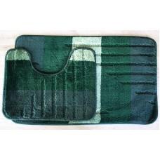 Koupelnová předložka Comfort - zelená/smaragdová - set 2 ks