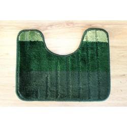 Koupelnová předložka  WC 40x50cm zelená/smaragdová