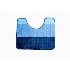 Koupelnová předložka  WC 40x50cm modrá 2