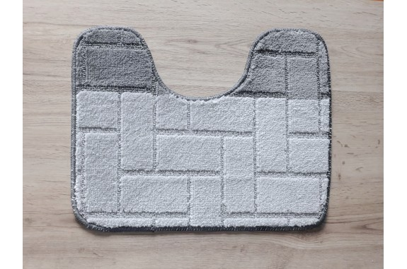 Koupelnová předložka  WC Comfort  40x50cm - šedá