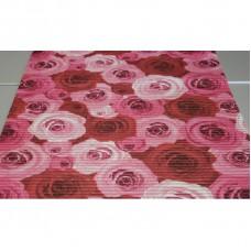 Pěnová koupelnová PVC předložka Dekomarin - 100 - Růže   šířka 65cm, metráž