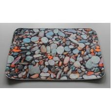 Koupelnová předložka s 3D efektem -  Mořské kamený