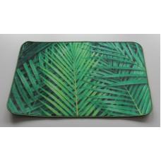 Koupelnová předložka s 3 D efektem - Palmové listy