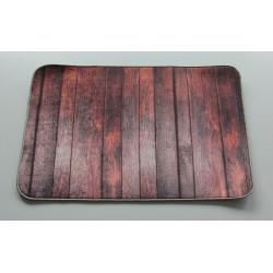 Koupelnová předložka s 3 D efektem - Imitace dřeva