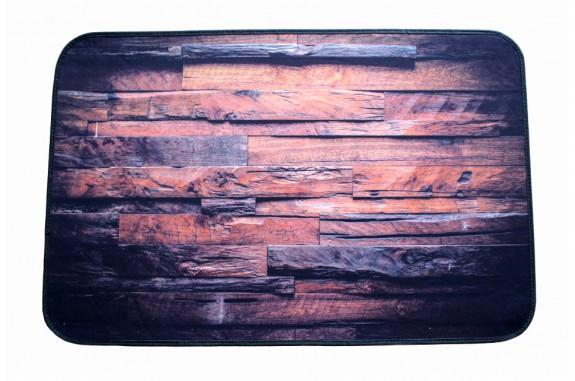 Koupelnová předložka s 3 D efektem - Imitace dřeva-2