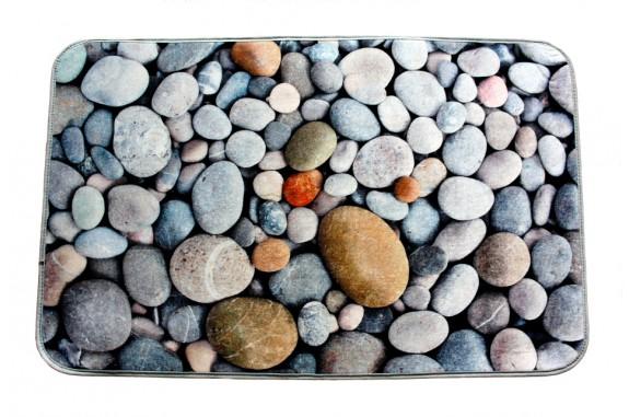Koupelnová předložka s 3D efektem -  Kamený 2