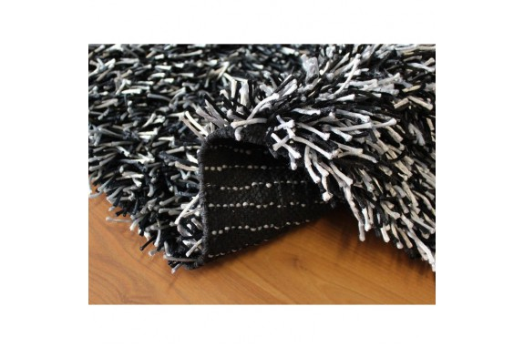 Koupelnová předložka Sparkle -  černá, 50x80 cm