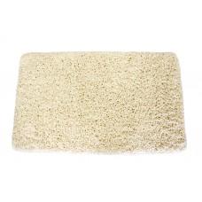 Koupelnový kobereček Spring -  krémový, 60x100 cm