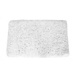 Koupelnový kobereček Spring -  bílý, 60x100 cm