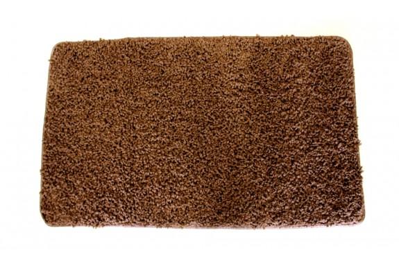 Koupelnový kobereček Spring -  hnědý, 60x100 cm