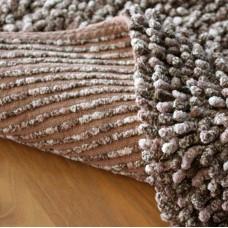 Koupelnová předložka Sprinkle -  bavlna hnědá melír