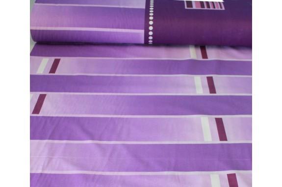 Látka bavlna 8338 - fialová, šířka 160cm