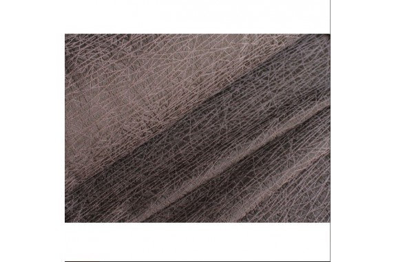 Dekorační látka na závěsy Diormos -  tmavě hnědá, metráž
