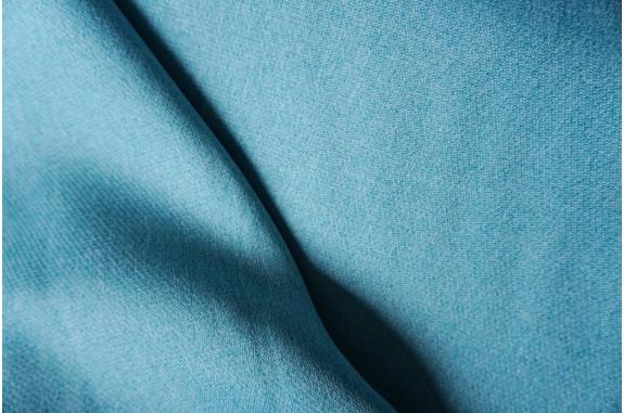 Dekorační látka na závěsy Katni -  modrá, metráž