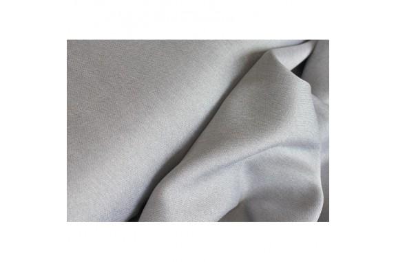 Dekorační látka na závěsy Katni -  světle šedá, metráž