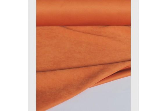 Dekorační látka na závěsy LCT - pastelová oranžová, metráž