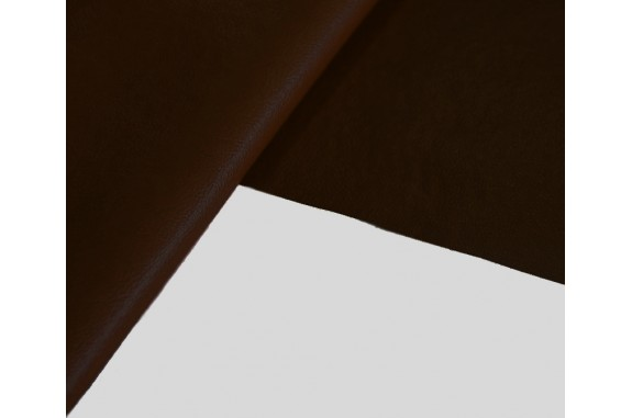 Ekokůže - Koženka DERI - hnědá, metráž