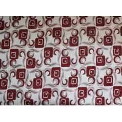Potahová gobelínová látka Tafta-128- vínová