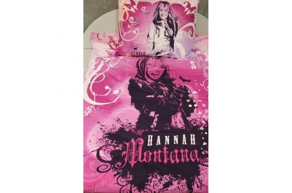 Povlečení Hannah Montana bavlna 140x200 70x90cm