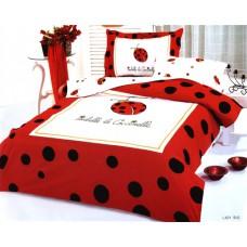 Set luxusního saténového povlečení Le Vele - Lady Bug