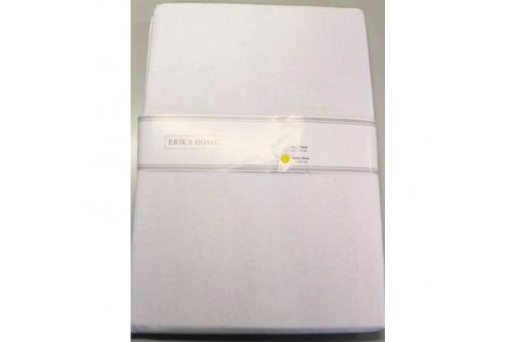 Bavlněné plátěné prostěradlo bílé,  220x240cm - hodí se i na roušky