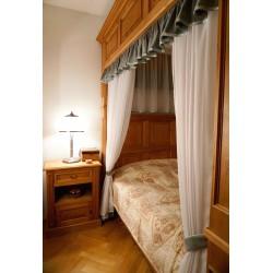 Přehoz na postel Sofia,  150x220cm -  hnědý vzor