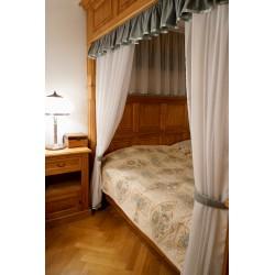 Přehoz na postel Sofia,  150x220cm -  tyrkysový vzor