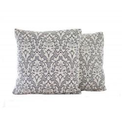 Sada povlaků na polštářek Baroko- šedý, 2 ks