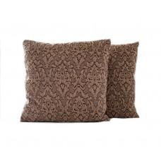 Sada povlaků na polštářek Baroko- hnědý, 2 ks