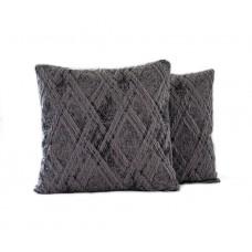 Sada povlaků na polštářek Classic - šedý, 2 ks
