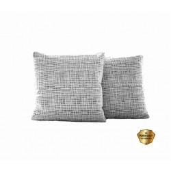 Sada povlaků na polštářek Moderno- šedý, 2 ks