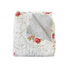 Přehoz oboustranný Colore - Růže, 220x240cm + dárek