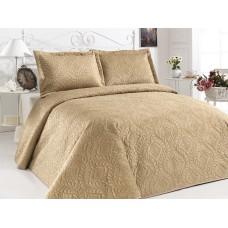 Přehoz na postel ILK - hořčice,  220x240cm