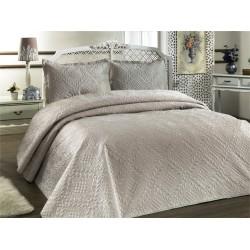 Přehoz na postel ILK - béžový,  220x240cm