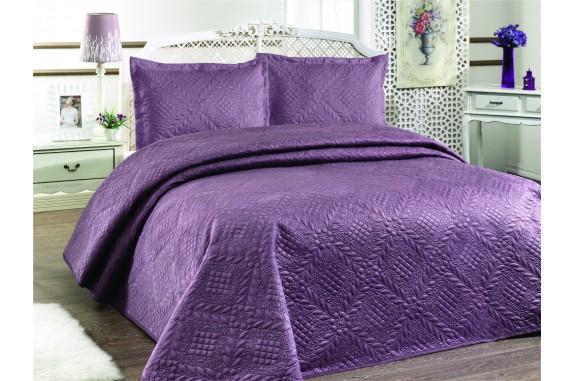 Přehoz na postel ILK - fialový,  220x240cm