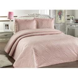 Přehoz na postel ILK - pudrový,  220x240cm