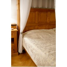 Přehoz na postel Ketrin,  150x220cm -  se zlatou nití