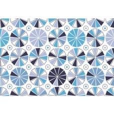 Ubrus PVC AT-206 - Dětský modrý, 20 m x 140 cm