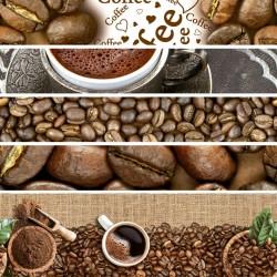 Ubrus PVC Dekorama D-136A -  kávový motiv, role 20 m