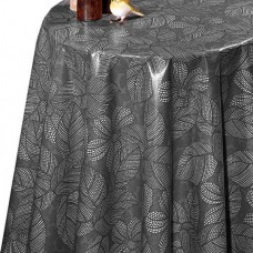 Ubrus PVC Dekorama D-167 - černý, 20 m