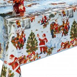 Ubrus PVC Dekorama D-25A -  vánoční, 20m