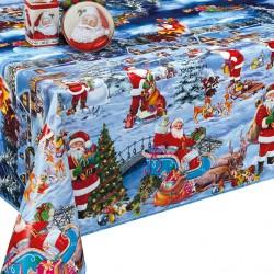 Ubrus PVC Dekorama D-25C -  vánoční, 20m
