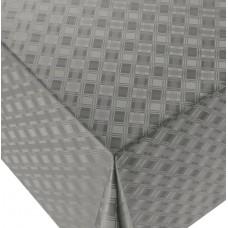 Ubrus PVC Dekorama D-521C - platinová šedá, metráž