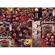 Ubrus PVC Rafail DC-920A - Chocolate, role 20 m