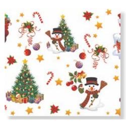 Ubrus PVC Florista FL-1188-04 -  vánoční, 20m