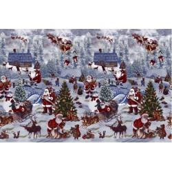 Ubrus PVC Florista FL-1228-00 -  vánoční, 20m