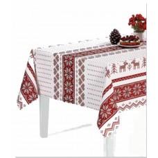 Ubrus PVC Florista FL-1231-01 -  vánoční, 20m