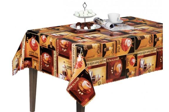 Ubrus PVC Florista  Fl-1251 - Coffee, role 20 m