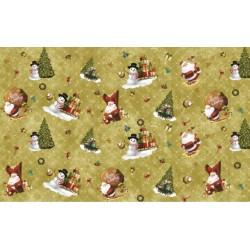 Ubrus PVC Florista FL-1334-01 -  vánoční, 20m