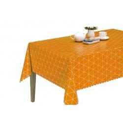 Ubrus PVC Florista  Fl-1428 - oranžový, role 20 m